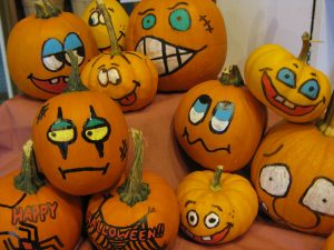 Decorated Pumpkins